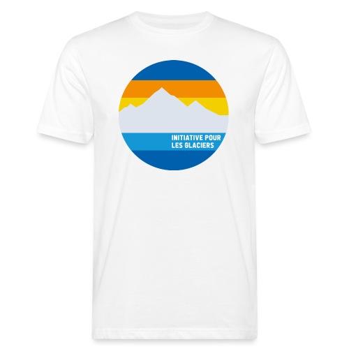 Initiative pour les glaciers - Männer Bio-T-Shirt