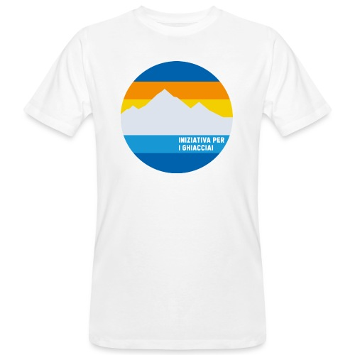 Iniziativa per i ghiacciai - T-shirt ecologica da uomo