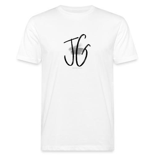 JG - JANNINA GAIDELL BRAND LOGO SHIRT - Männer Bio-T-Shirt