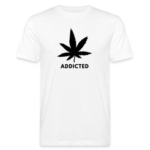Addicted - Mannen Bio-T-shirt