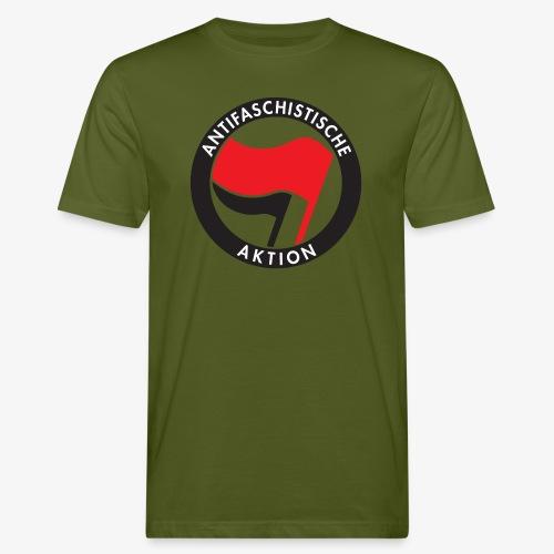 Atnifaschistische Action - Antifa Logo - Men's Organic T-Shirt