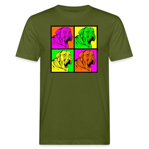 Bouledogue Anglais Couleur - T-shirt bio Homme