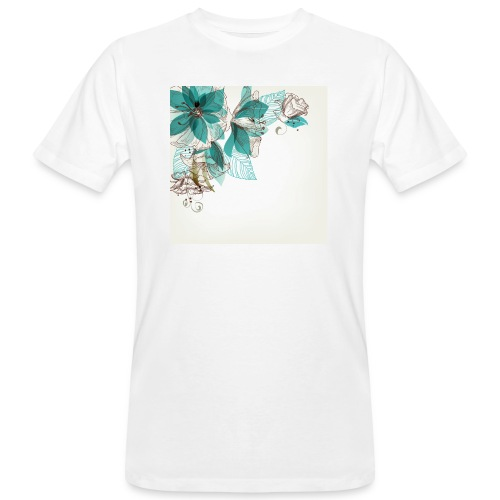 Tropical Flora - Men's Organic T-Shirt