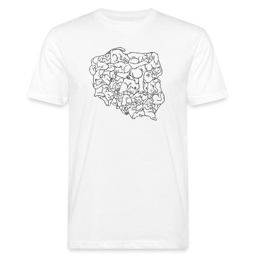 Kotowództwa - Ekologiczna koszulka męska