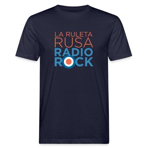 La Ruleta Rusa Radio Rock. Portrait Primary. - Camiseta ecológica hombre
