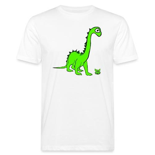 dinosauro - T-shirt ecologica da uomo