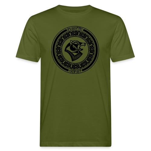 BjornfellRisingBlack - Miesten luonnonmukainen t-paita