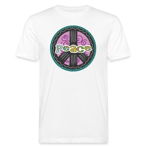 Peace - Männer Bio-T-Shirt