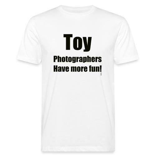 Toy photographers have more fun - Ekologisk T-shirt herr