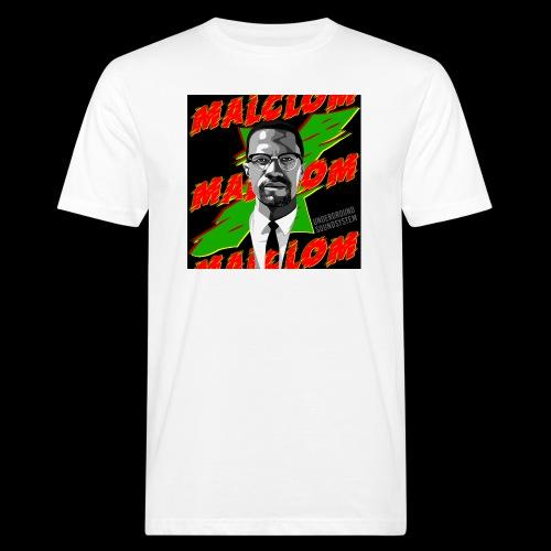 MALCOM by UNDERGROUND SOUNDSYSTEM - Männer Bio-T-Shirt