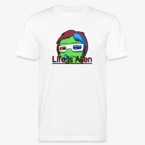 Life is Alien - Männer Bio-T-Shirt