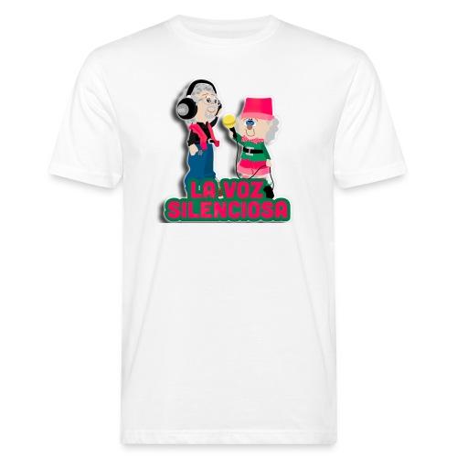La voz silenciosa - Jose y Arpelio - Camiseta ecológica hombre