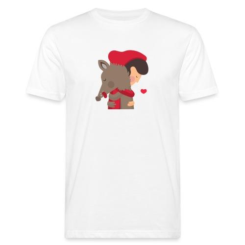 Abbracciccio-02 - T-shirt ecologica da uomo