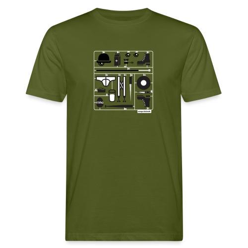 Ninho Orange Clockworks - T-shirt ecologica da uomo