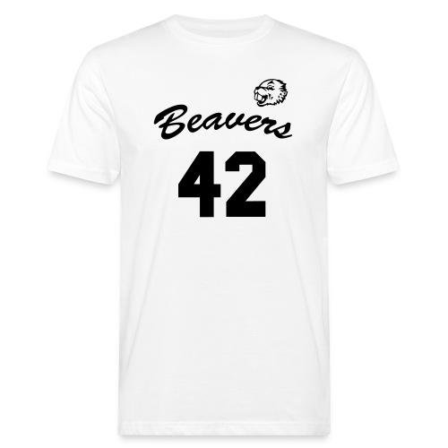 Beavers front - Mannen Bio-T-shirt