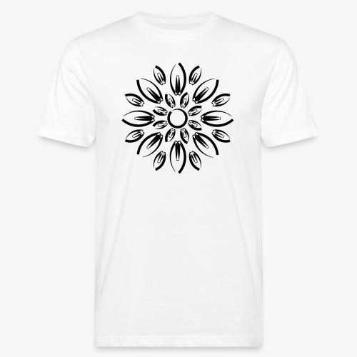 etnic flower - T-shirt bio Homme