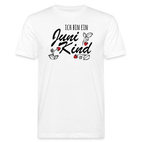 Juni Geburtstag Kind Shirt lustiges Geschenk - Männer Bio-T-Shirt