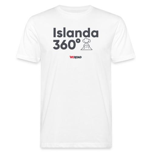 Islanda 360° - T-shirt ecologica da uomo