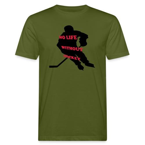 Ohne Eishockey - Männer Bio-T-Shirt