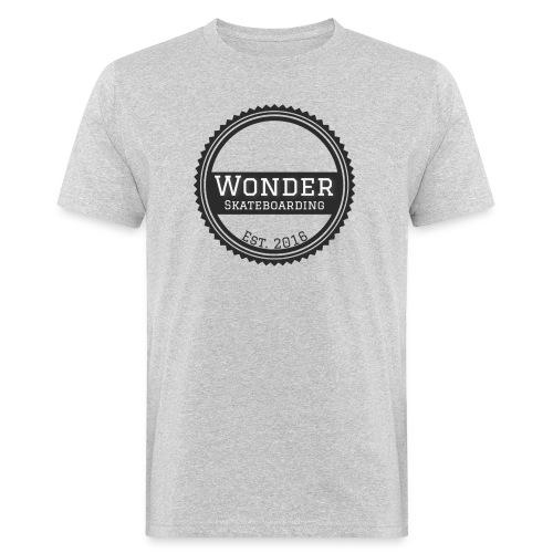Wonder unisex-shirt round logo - Organic mænd