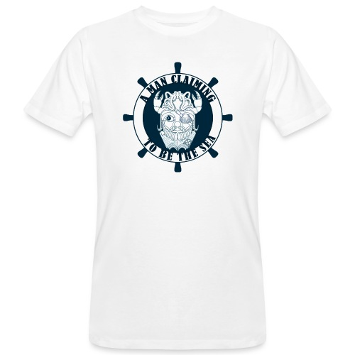 A man claiming to be the sea - Camiseta ecológica hombre