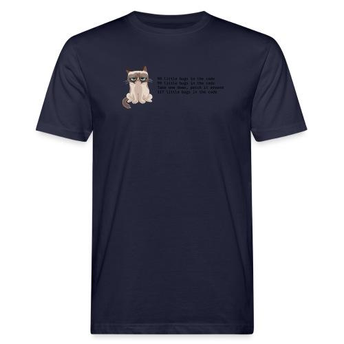 99 litle bugs of code - Mannen Bio-T-shirt
