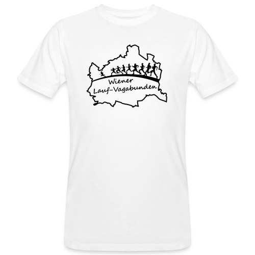 Laufvagabunden T Shirt - Männer Bio-T-Shirt