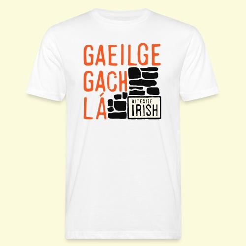 Gaeilge Gach Lá - Men's Organic T-Shirt
