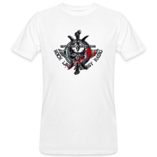 Blood Skull Logo - Ekologisk T-shirt herr