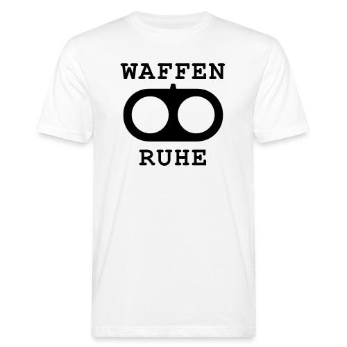 Waffenruhe - Männer Bio-T-Shirt