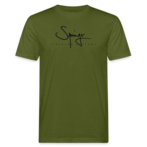 Logo Springer Guitars - T-shirt bio Homme