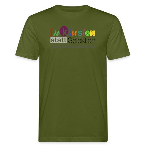 Inklusion statt Selektion - Männer Bio-T-Shirt