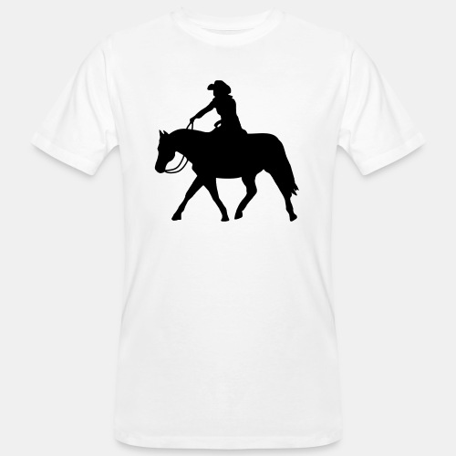 Ranch Riding extendet Trot - Männer Bio-T-Shirt