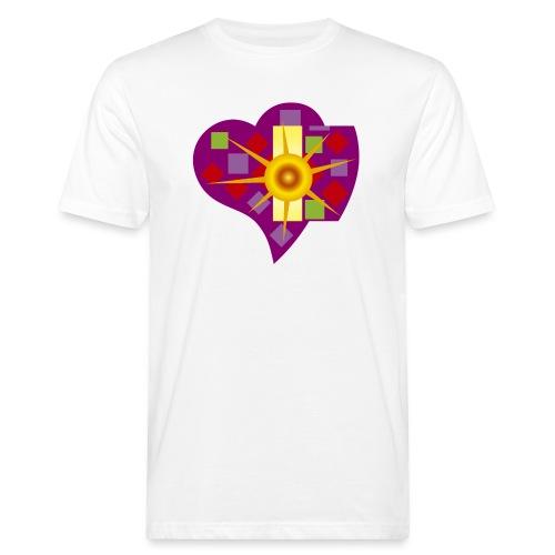 IN_LOVE_CUORE - Camiseta ecológica hombre