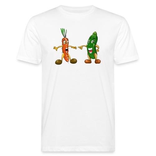 Les légumes du bébé et des végans - T-shirt bio Homme