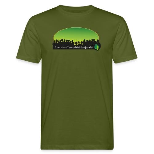 Svenska Cannabisfrämjandet - Ekologisk T-shirt herr