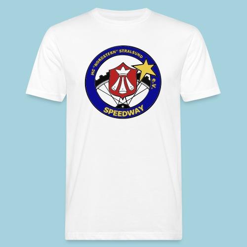 MCN Logo beidseitig - Männer Bio-T-Shirt