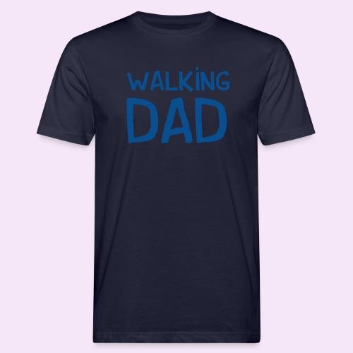 Vierdaagse Nijmegen - Walking Dad BLUE - Mannen Bio-T-shirt