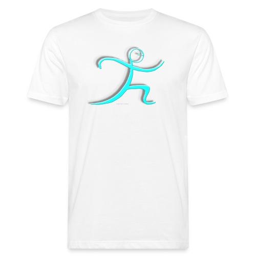 Tai Chi - einfache Peitsche - Männer Bio-T-Shirt