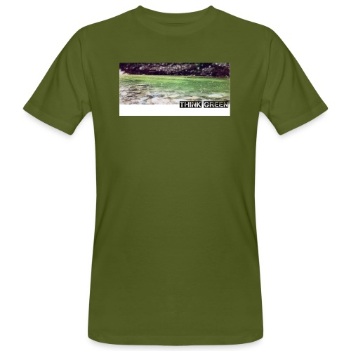 Think green - Männer Bio-T-Shirt