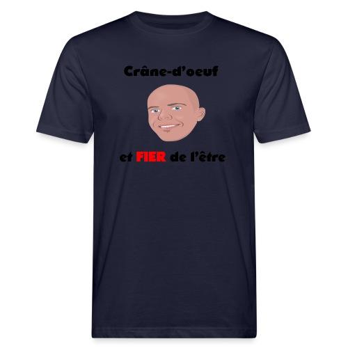 Chauve et fier - T-shirt bio Homme