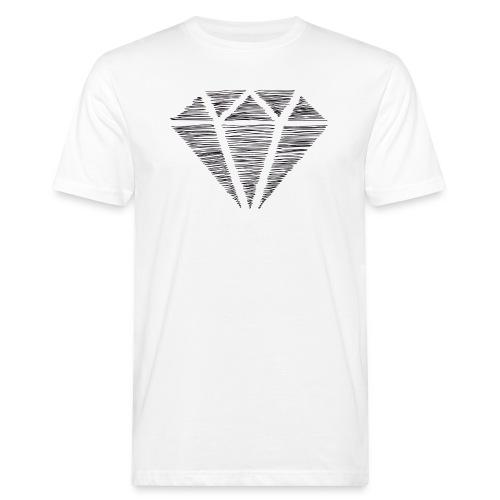 Diamante - Camiseta ecológica hombre