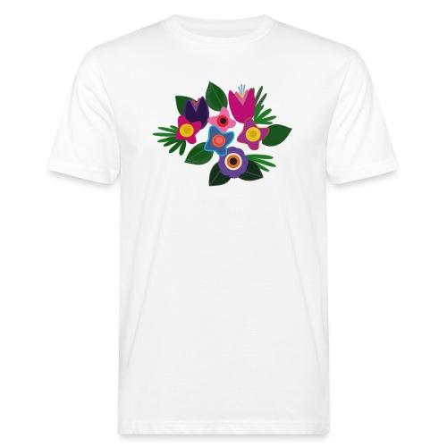 Flowers - Männer Bio-T-Shirt