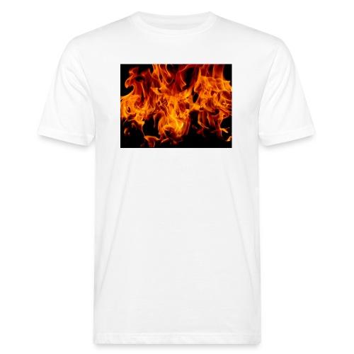Fiamme1-jpg - T-shirt ecologica da uomo