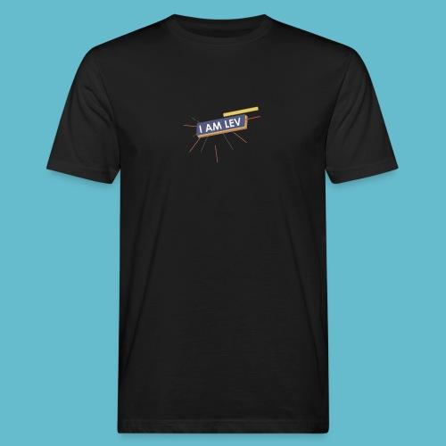 I AM LEV Banner - Mannen Bio-T-shirt