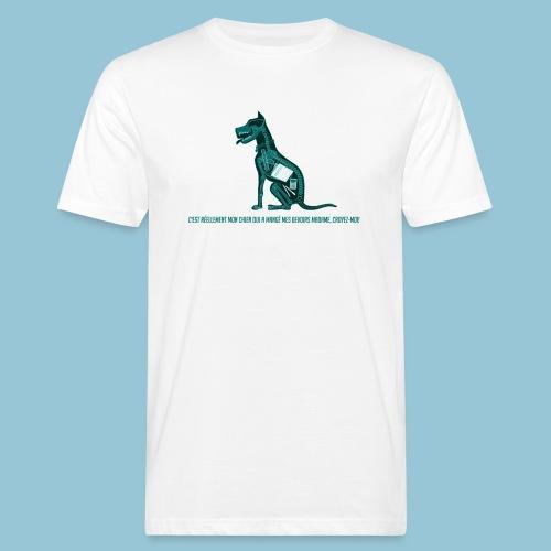 T-shirt pour homme imprimé Chien au Rayon-X - T-shirt bio Homme