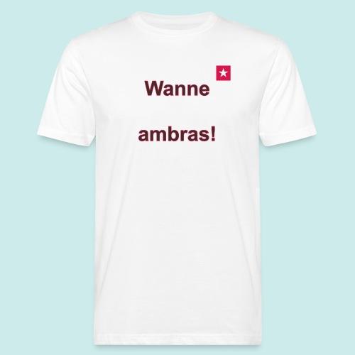 Wanne ambras verti mr def b - Mannen Bio-T-shirt