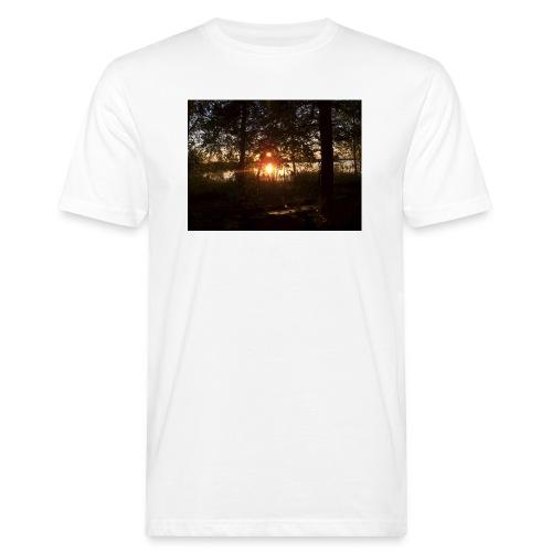 Ilta Koitereella - Miesten luonnonmukainen t-paita