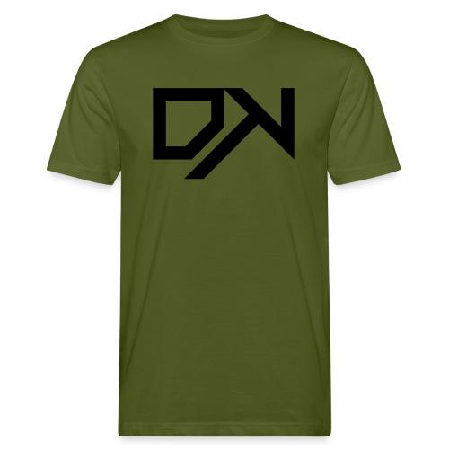DewKee Logo Cap Black - Men's Organic T-Shirt