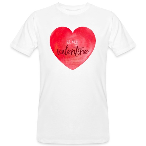 Cœur st.valentin - T-shirt bio Homme